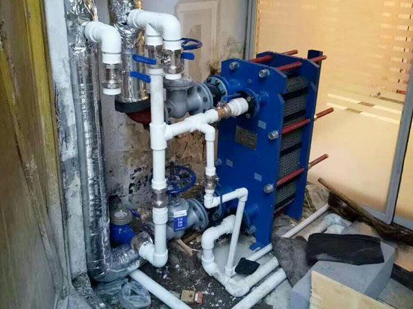 中央热水(空气能)施工案例
