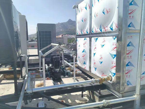中央热水(空气能)施工